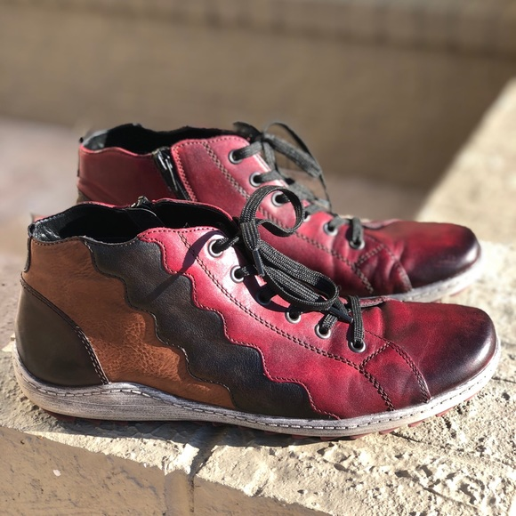 Size 42 Uk Side Zip Sneaker Boot